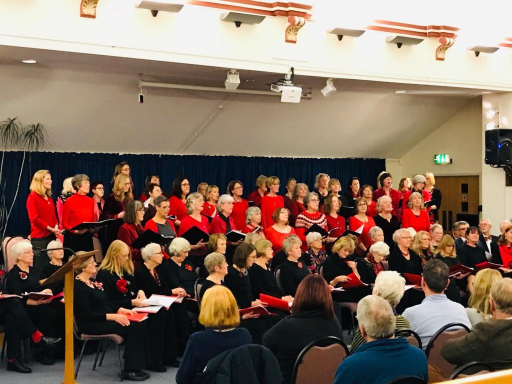 Viva!, Heart & Soul and Skylarks performing their Christmas Concert in the Dorford Centre, 2018