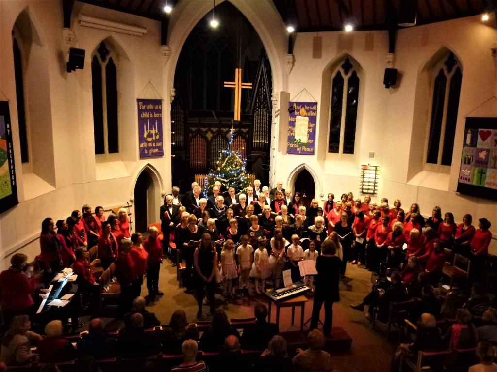 Viva!, Heart & Soul and Skylarks sing in the Christmas Concert at the United Church, 2017