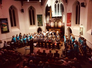 Oct 2017 combined concert at the United Church, Dorchester in aid of the Citizen's Advice Bureau