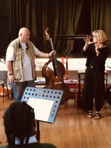 Working with Gavin Bryars and the students of the Friary School in Dundalk, on his timeless work 'Jesus' Blood Never Saved Me'