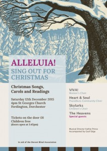 Xmas  concert poster 2015