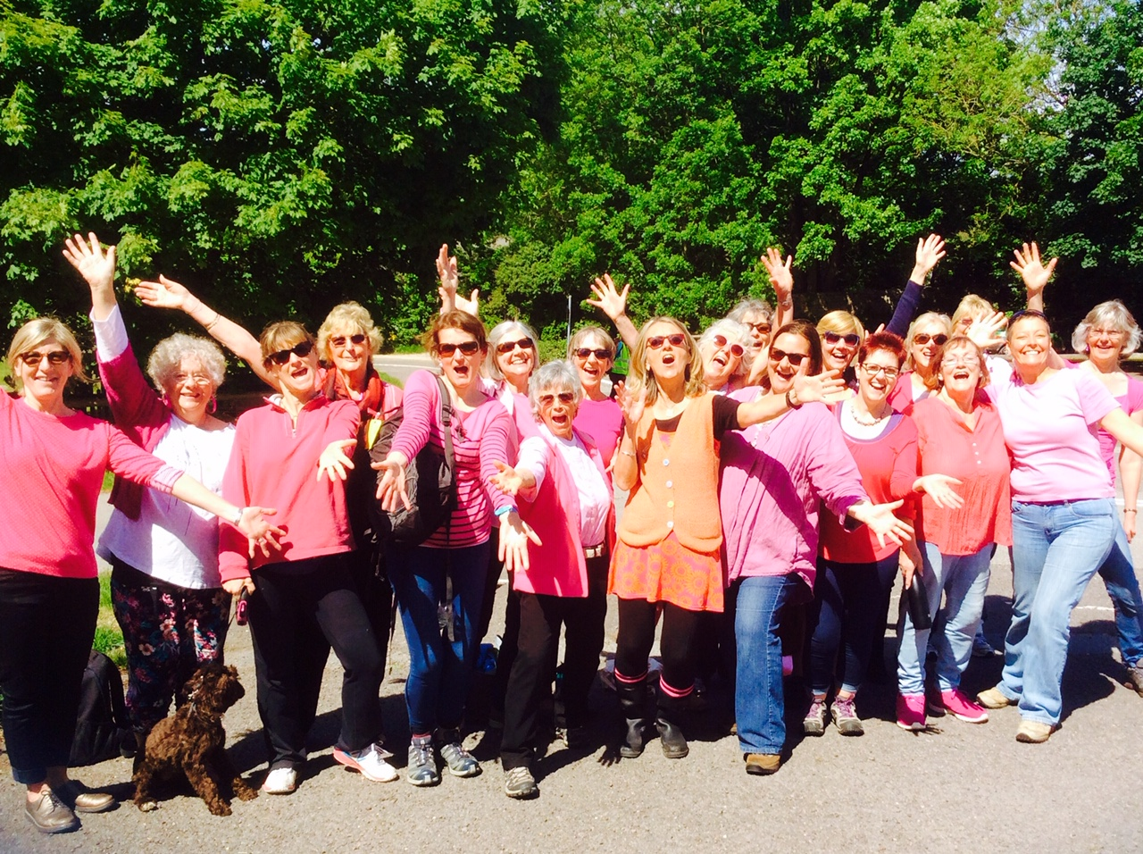 Viva! performing in May at the Race for Life in Kingston Maurward