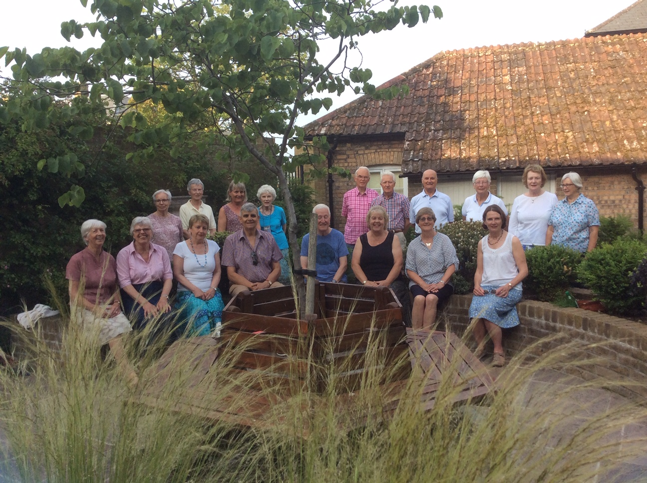 Members of Heart & Soul at the Quiet Space in Poundbury
